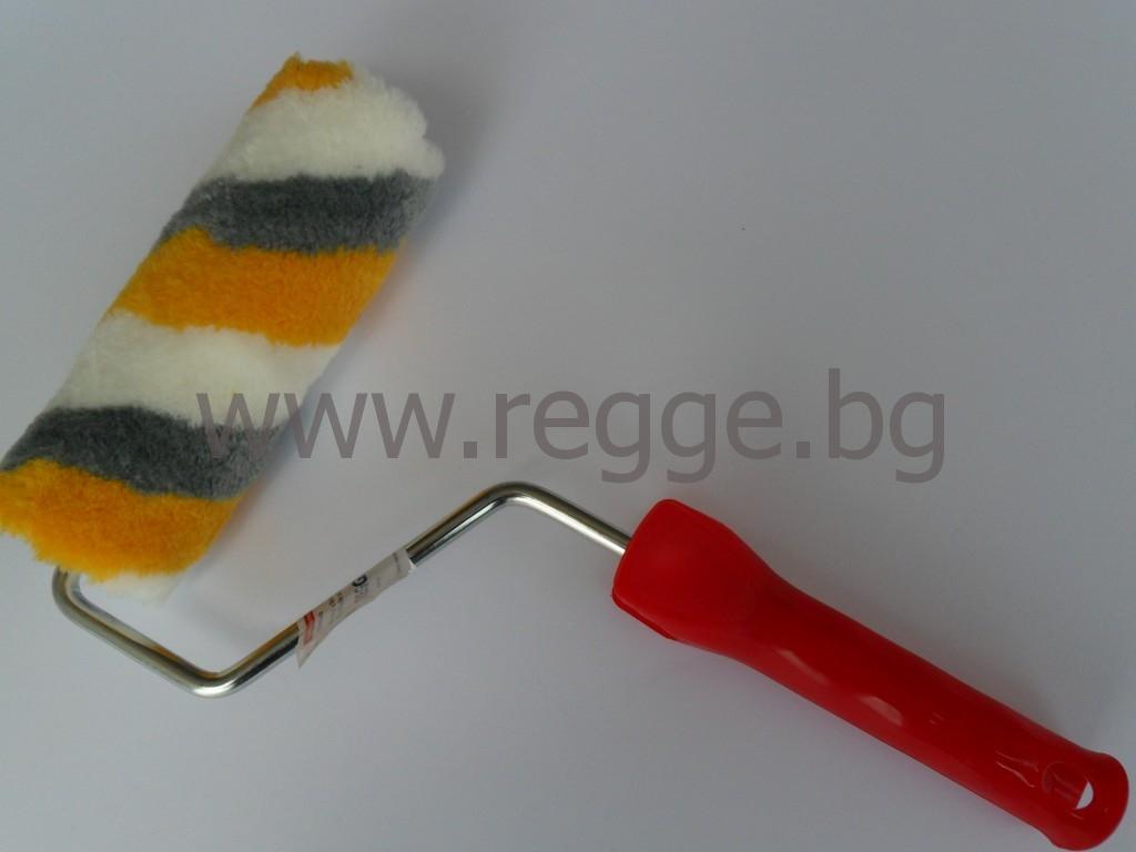 Acryl-Farbwalze SATIN, Streifen 18cm Art.№80098