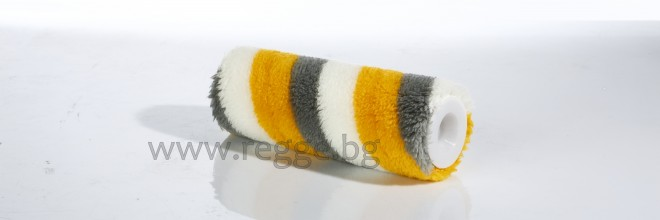 Acryl-Farbwalze  SATIN Streifen 25cm  80099