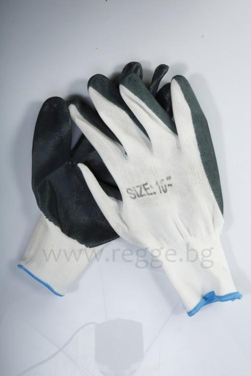 Polyester-Handschuhe, Nitril-Beschichtung Art.№ 85085